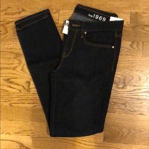 Gap Always skinny jeans dark wash